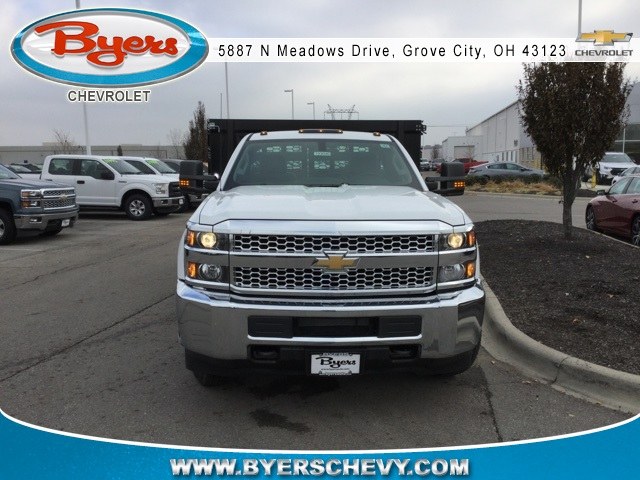 2019 Silverado 3500 Regular Cab DRW 4x2,  Knapheide Stake Bed #193040 - photo 4