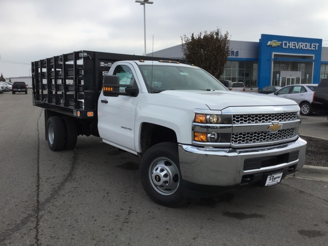 2019 Silverado 3500 Regular Cab DRW 4x2,  Knapheide Stake Bed #193040 - photo 33
