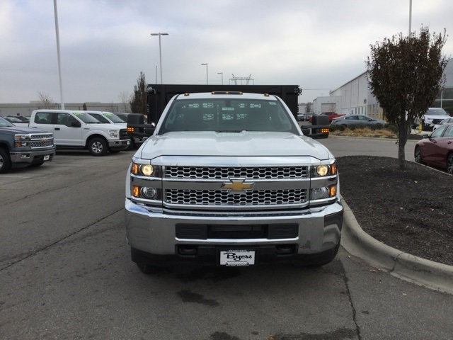2019 Silverado 3500 Regular Cab DRW 4x2,  Knapheide Stake Bed #193040 - photo 34