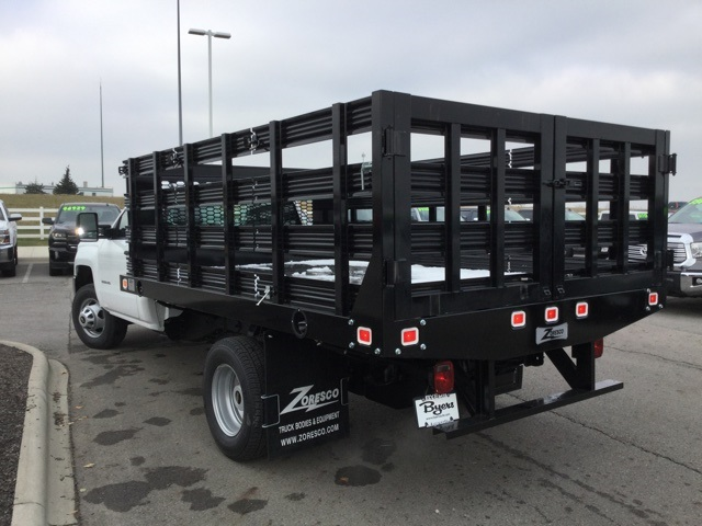 2019 Silverado 3500 Regular Cab DRW 4x2,  Knapheide Stake Bed #193040 - photo 36