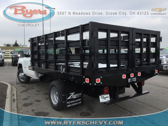 2019 Silverado 3500 Regular Cab DRW 4x2,  Knapheide Stake Bed #193040 - photo 2