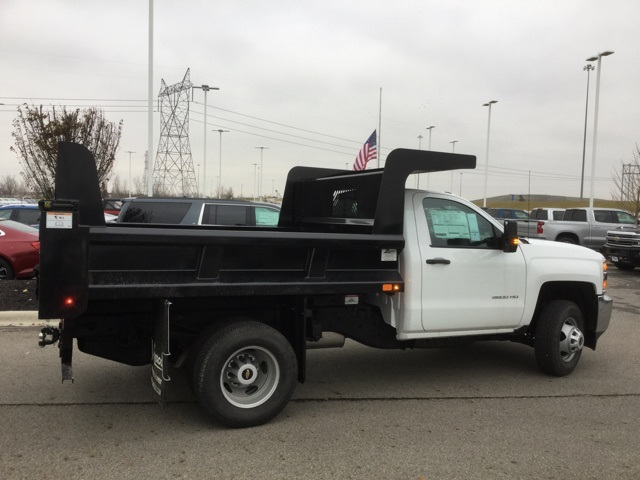 2019 Silverado 3500 Regular Cab DRW 4x4,  Rugby Dump Body #193049 - photo 9
