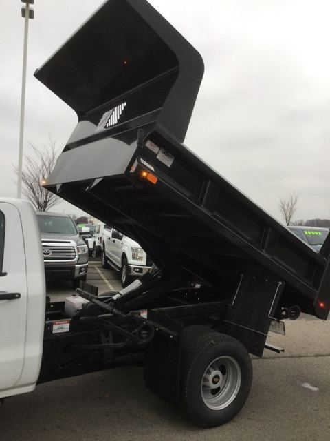 2019 Silverado 3500 Regular Cab DRW 4x4,  Rugby Dump Body #193049 - photo 13
