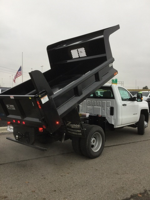 2019 Silverado 3500 Regular Cab DRW 4x4,  Rugby Z-Spec Dump Body #193049 - photo 15