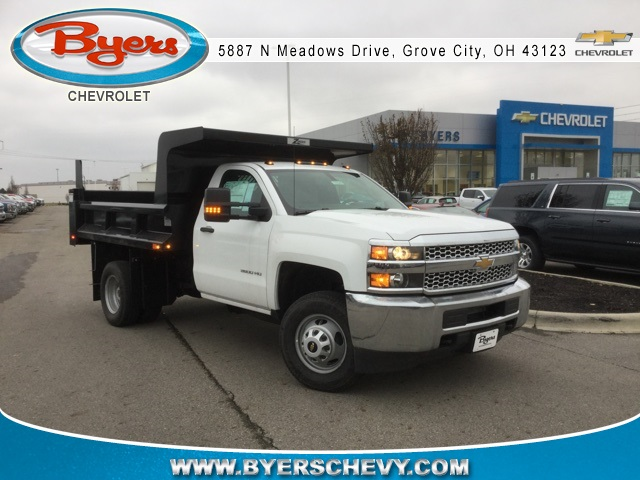 2019 Silverado 3500 Regular Cab DRW 4x4,  Rugby Dump Body #193049 - photo 3