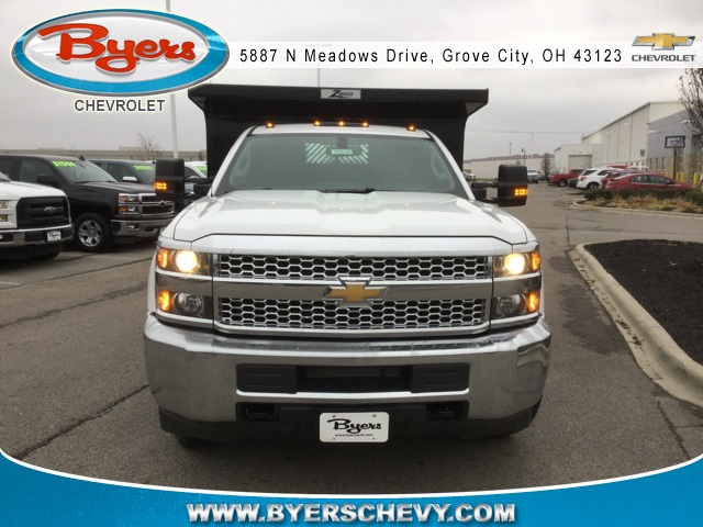 2019 Silverado 3500 Regular Cab DRW 4x4,  Rugby Dump Body #193049 - photo 4