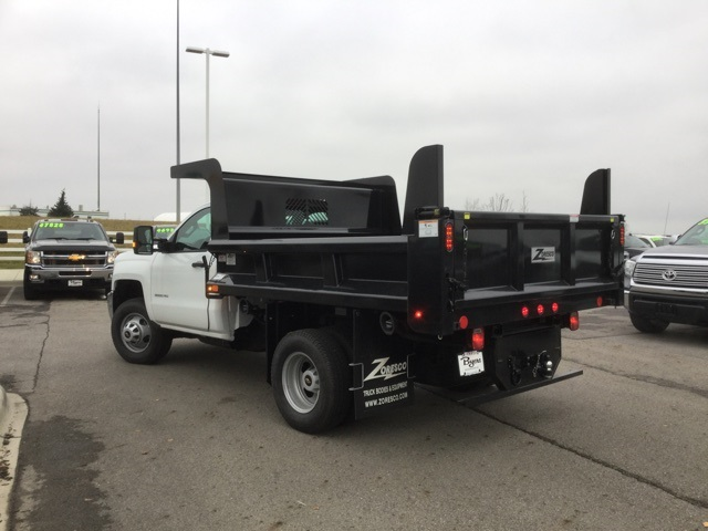 2019 Silverado 3500 Regular Cab DRW 4x4,  Rugby Dump Body #193049 - photo 1
