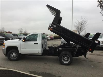 2019 Silverado 3500 Regular Cab DRW 4x4,  Rugby Z-Spec Dump Body #193049 - photo 12