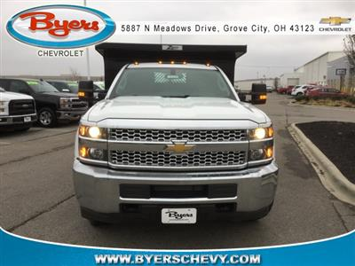 2019 Silverado 3500 Regular Cab DRW 4x4,  Rugby Z-Spec Dump Body #193049 - photo 4