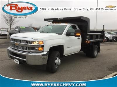 2019 Silverado 3500 Regular Cab DRW 4x4,  Rugby Z-Spec Dump Body #193049 - photo 1