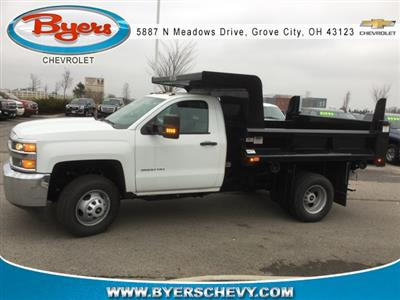 2019 Silverado 3500 Regular Cab DRW 4x4,  Rugby Z-Spec Dump Body #193049 - photo 5