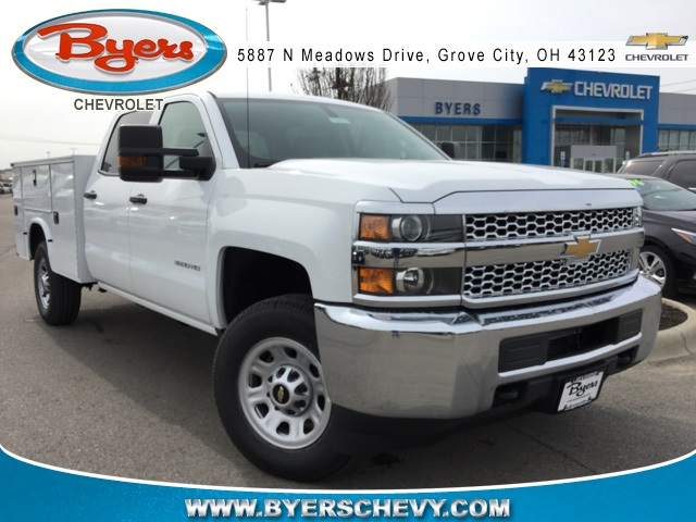 2019 Silverado 3500 Crew Cab 4x4,  Knapheide Service Body #193075 - photo 1