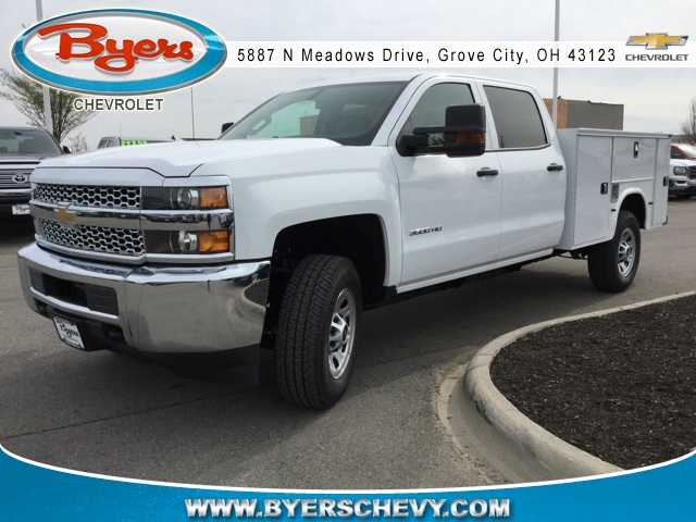 2019 Silverado 3500 Crew Cab 4x4,  Knapheide Service Body #193075 - photo 4
