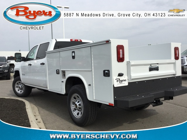 2019 Silverado 3500 Crew Cab 4x4,  Knapheide Service Body #193075 - photo 5