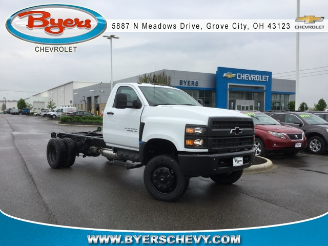 2019 Silverado Medium Duty 4x4,  Cab Chassis #193081 - photo 1