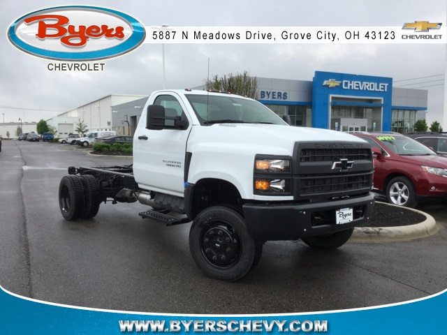 2019 Silverado Medium Duty 4x4,  Cab Chassis #193082 - photo 1