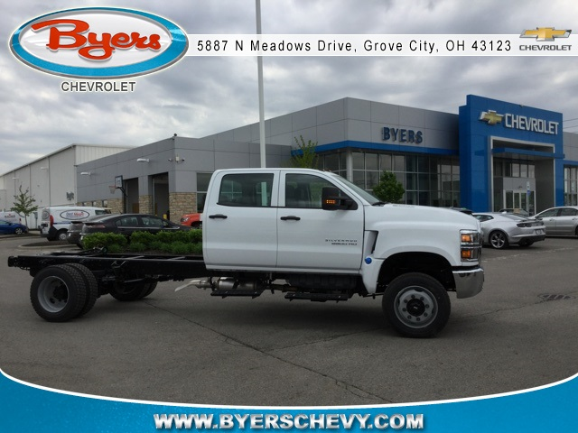 2019 Silverado Medium Duty DRW 4x4,  Cab Chassis #193085 - photo 1
