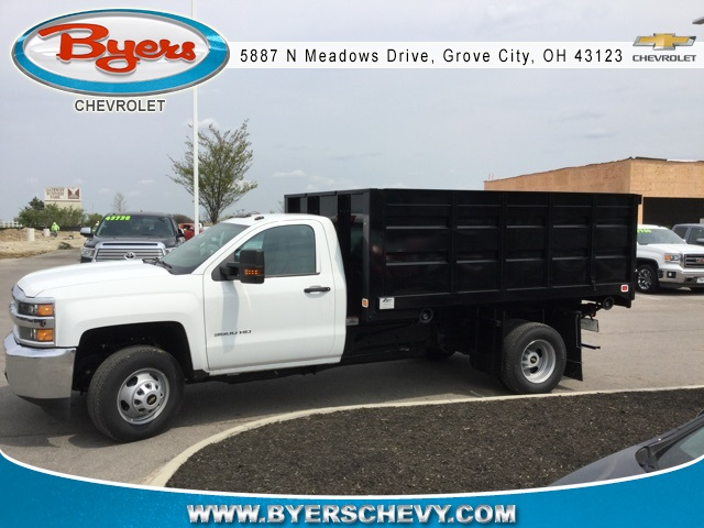 2019 Silverado 3500 Regular Cab DRW 4x4,  Knapheide Landscape Dump #193086 - photo 5