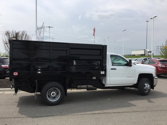 2019 Silverado 3500 Regular Cab DRW 4x4,  Knapheide Landscape Dump #193086 - photo 8