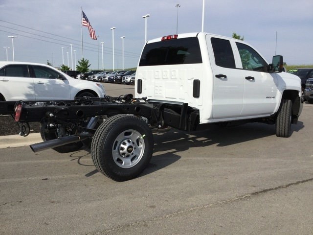 2019 Silverado 2500 Double Cab 4x4,  Cab Chassis #193092 - photo 1