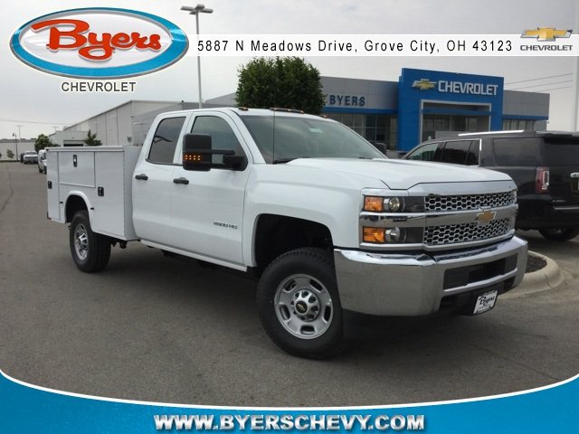 2019 Silverado 2500 Double Cab 4x4,  Knapheide Service Body #193093 - photo 1