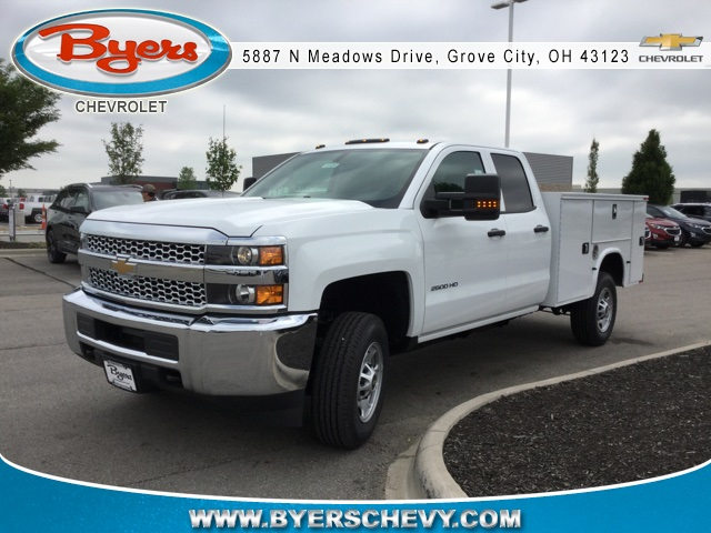 2019 Silverado 2500 Double Cab 4x2,  Knapheide Standard Service Body #193094 - photo 4