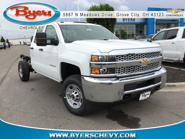 2019 Silverado 2500 Double Cab 4x2,  Cab Chassis #193096 - photo 1