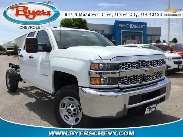 2019 Silverado 2500 Double Cab 4x4,  Cab Chassis #193101 - photo 1