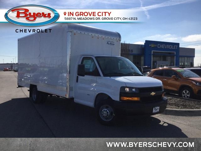 2019 Express 3500 4x2,  Bay Bridge Cutaway Van #C193061 - photo 1