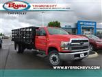 2019 Silverado Medium Duty DRW 4x2,  Knapheide Stake Bed #C193071 - photo 1
