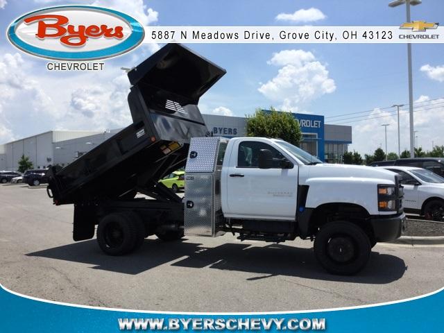 2019 Silverado Medium Duty Regular Cab 4x4,  Crysteel E-Tipper Dump Body #C193081 - photo 1