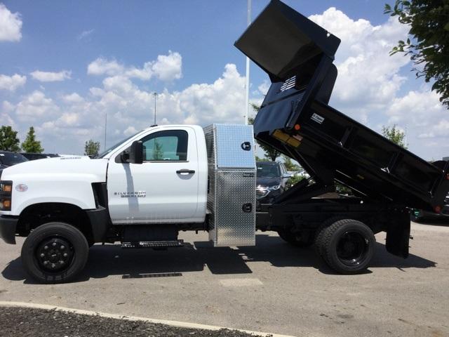 2019 Silverado Medium Duty Regular Cab 4x4,  Crysteel E-Tipper Dump Body #C193081 - photo 7