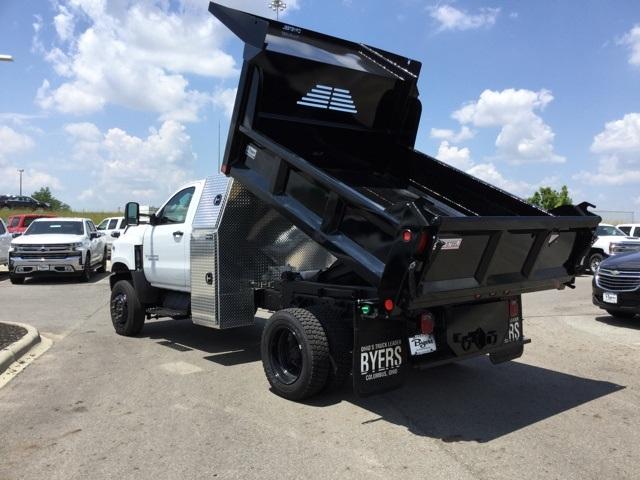 2019 Silverado Medium Duty Regular Cab 4x4,  Crysteel E-Tipper Dump Body #C193081 - photo 2