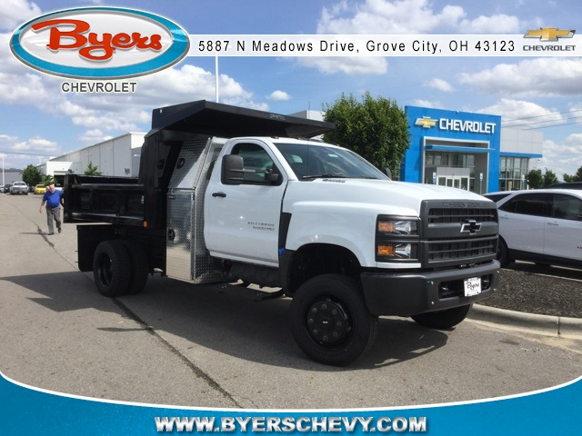 2019 Silverado Medium Duty Regular Cab 4x4,  Crysteel Dump Body #C193082 - photo 1