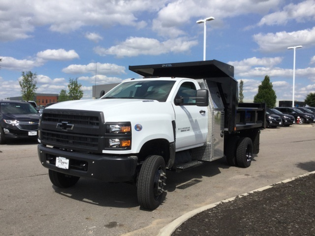 2019 Silverado Medium Duty Regular Cab 4x4,  Crysteel E-Tipper Dump Body #C193082 - photo 4