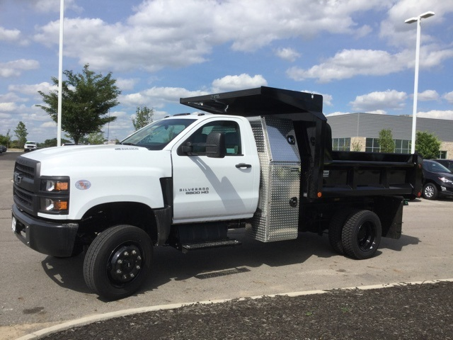 2019 Silverado Medium Duty Regular Cab 4x4,  Crysteel E-Tipper Dump Body #C193082 - photo 5