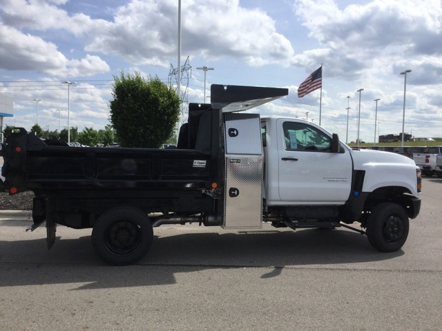 2019 Silverado Medium Duty Regular Cab 4x4,  Crysteel E-Tipper Dump Body #C193082 - photo 8