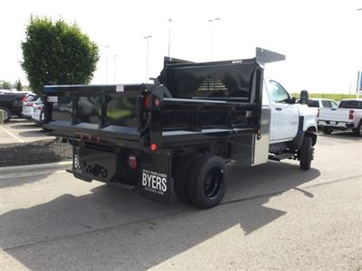 2019 Silverado Medium Duty Regular Cab 4x4,  Crysteel E-Tipper Dump Body #C193082 - photo 2