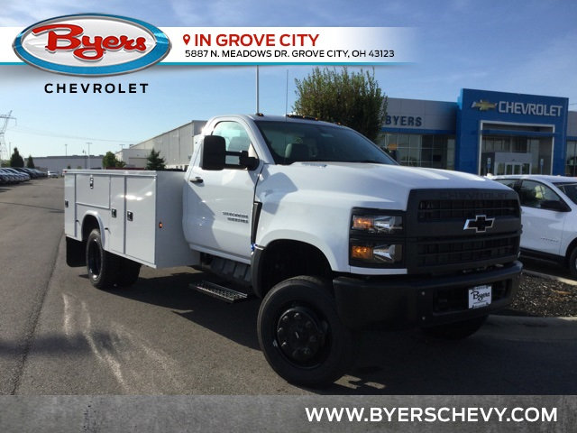 2019 Silverado Medium Duty Regular Cab DRW 4x4, Knapheide Standard Service  Body (Stock #C193083)