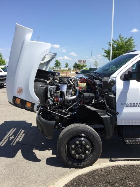 2019 Silverado Medium Duty Regular Cab 4x4,  Cab Chassis #C193083 - photo 13