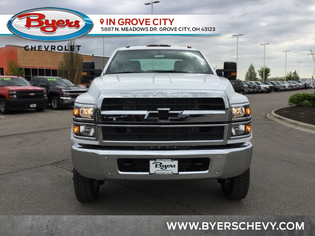 2019 Silverado Medium Duty DRW 4x4,  Cab Chassis #C193085 - photo 4