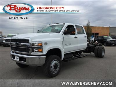 2019 Silverado Medium Duty DRW 4x4,  Cab Chassis #C193085 - photo 5