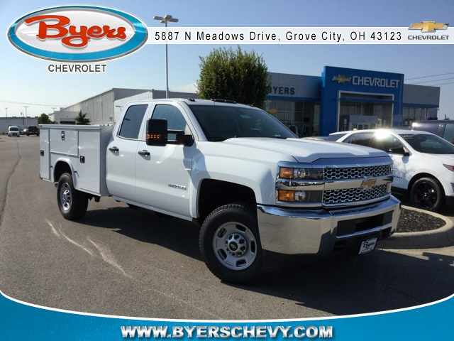 2019 Silverado 2500 Double Cab 4x4,  Knapheide Standard Service Body #C193092 - photo 1