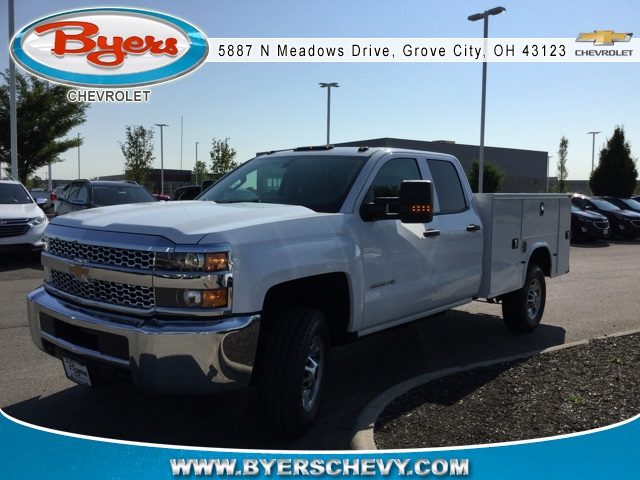 2019 Silverado 2500 Double Cab 4x4,  Knapheide Standard Service Body #C193092 - photo 5