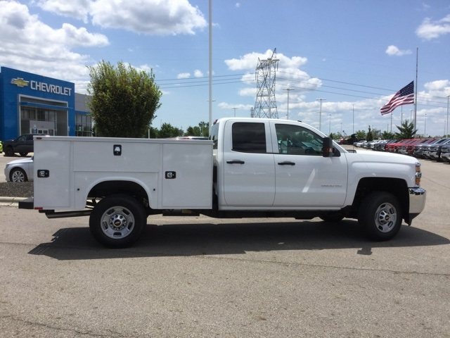 2019 Silverado 2500 Double Cab 4x2, Knapheide Standard Service Body #C193095 - photo 8