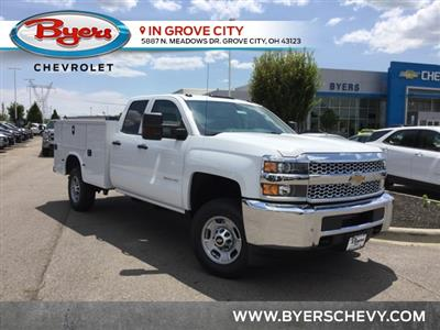 2019 Silverado 2500 Double Cab 4x2,  Cab Chassis #C193095 - photo 1