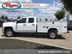 2019 Silverado 2500 Double Cab 4x2, Knapheide Standard Service Body #C193095 - photo 5