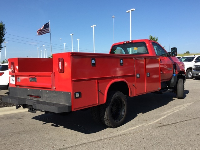 2019 Silverado Medium Duty Regular Cab 4x4,  Knapheide Service Body #C193130 - photo 1