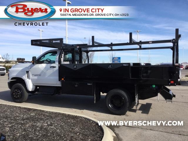 2019 Silverado 4500 Regular Cab DRW 4x4, Knapheide Concrete Body #C193177 - photo 1