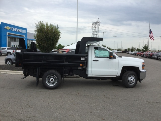 2019 Silverado 3500 Regular Cab DRW 4x4,  Rugby Dump Body #C193181 - photo 1